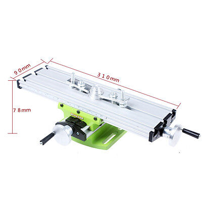 Multifunction Milling Machine Vise Fixture Adjustable Worktable For Bench Drills