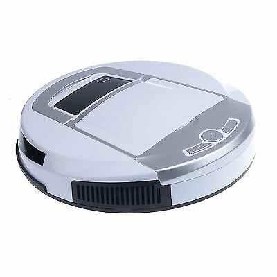 White Recharge Vacuum Cleaner Robot Robotic Automatic Mop Dust Auto Sweeper AU