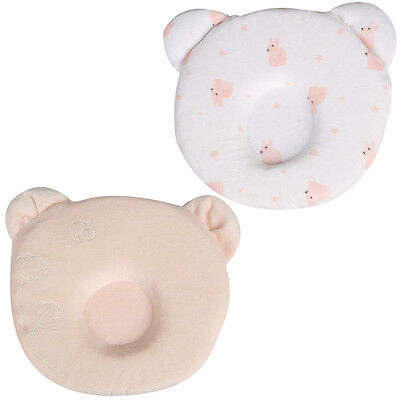Baby Pillow Round Panda Shaped Infant Newborn Sleeping Support Prevent Flat Head