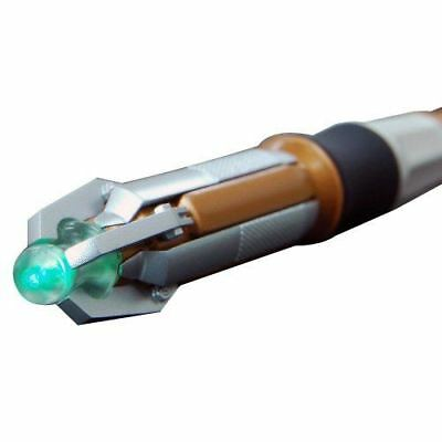 Official BBC DR109 11th Dr Doctor Who Sonic Screwdriver LED Torch - Green Glow