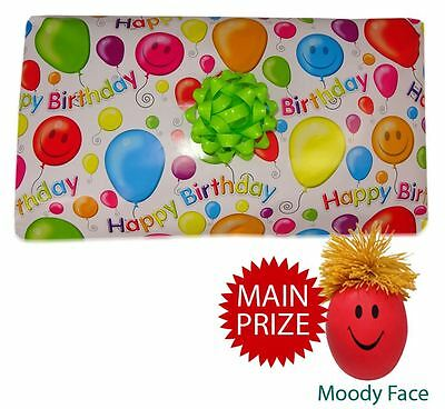 Smiley Face Pass the Parcel Ready Made - BEST VALUE - 8 Layers