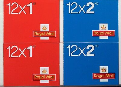 BRAND NEW 1ST & 2ND CLASS STAMPS x48 SAVE Self-Adhesive UK First & Second VALUE!