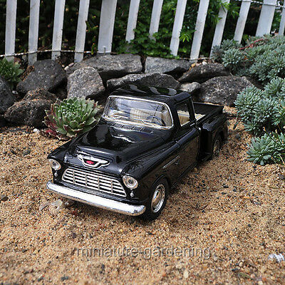 Miniature Fairy Garden Chevy Pick-Up, Color Options