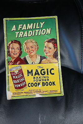 Vintage Magic Baking Powder Cook Book - A Family Tradition