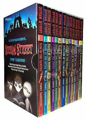 Scream Street Tommy Donbavand 13 Books Collection Boxed Pack Set RRP: £68.14 New