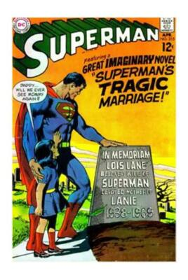 Superman 215  (Vf+) Lois Lane...dead... Yet Alive  (Free Shipping) *