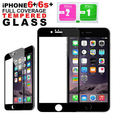 Full 3D Curved Cover Tempered Glass Screen Protector For Apple iPhone 6S Plus 6+