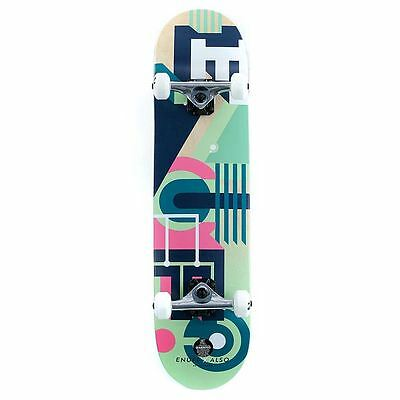 "Enuff Skateboards ALSO Factory Complete Skateboard Green 7.75"" New Free Delivery"