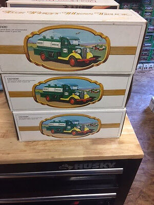 LOT OF 7x 1982 & 1x 1985 USED HESS TRUCKS