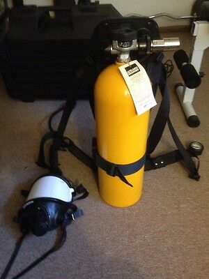 Scott Air Pack C100 SCBA Complete In Perfect Condition Like New