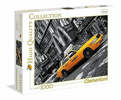Clementoni 39274 Puzzle 1000 Pezzi High Quality New York Taxi