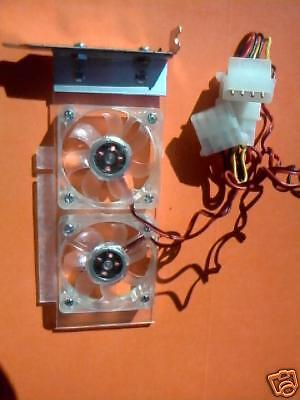 Low Profile PCI Express Cooling Fan Card - X1 or X16