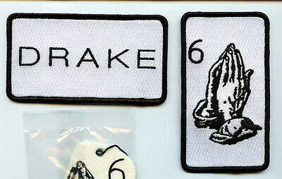 DRAKE 2016 VIP Tour Merchandise – 2 Patches, Car Air Freshener & 2 Metal Pins