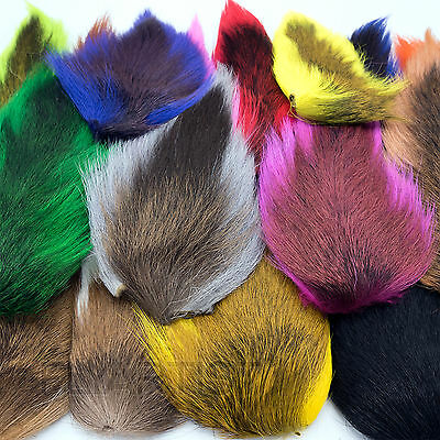 Hareline LARGE NORTHERN BUCKTAIL Fly Tying Deer Hair Material NEW!