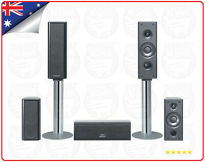 Kenwood Centre & Surround Speakers 5 Speaker System for Home Theatre KS-5200HT