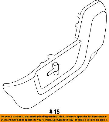 Ram CHRYSLER OEM 13-17 3500 Front Seat-Outer Finish Panel Right 5MZ88HL1AA