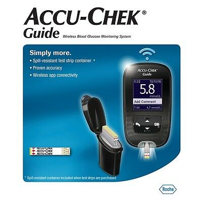 ACCU CHECK Guide *NEW* WIRELESS Blood Glucose Meter *FREE AFTER CASHBACK!* *MVC*