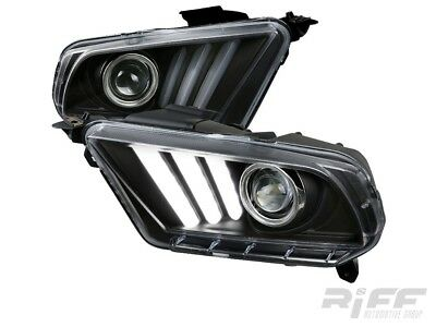 Scheinwerfer 2015 Style LED Blinker Sequentiell Ford Mustang 2010 2011 2012 S197
