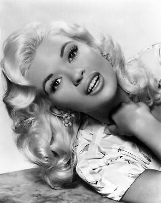 Jayne Mansfield 2 Film Actress Glossy Black & White Photo Picture Print A4