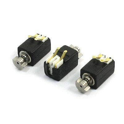 S8SZ 3 Pcs 1400RPM Speed 3V Mobile Phone Micro DC Coin Vibration Motor