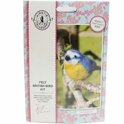 Kirstie Allsopp Felt British Bird Kit Needle Felting Craft Spinning Home Decor