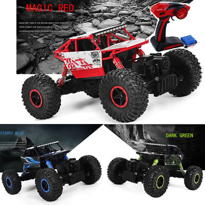 UK STOCK Off Road Remote Control 1/18 2.4G 4WD Rock Crawler Radio RC Car Toy New