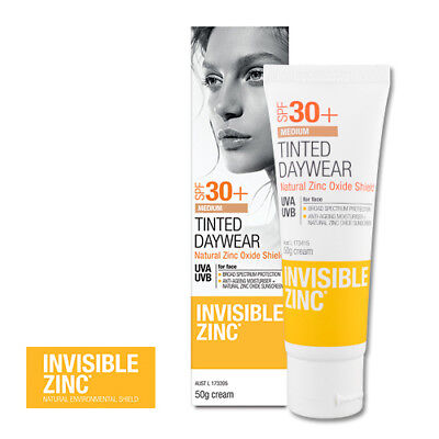 Invisible Zinc Tinted Daywear Medium SPF 30+ 50g