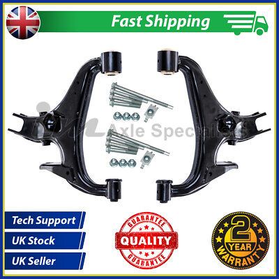 Land Rover Discovery 4 Rear Lower Right+Left Suspension Arms Kit & Fitting Kits