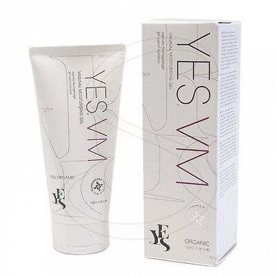 Yes Vm Vaginal Moisturising Gel 100Ml Water Based Long Lasting Relieves Dryness
