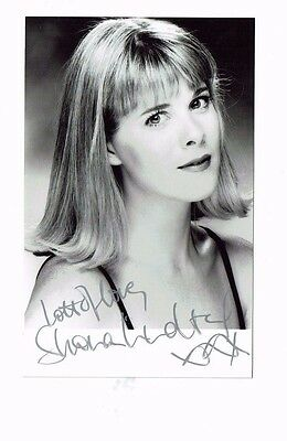 Shona Lindsay Theatre  Actress Hand signed  Photograph 5 x 3