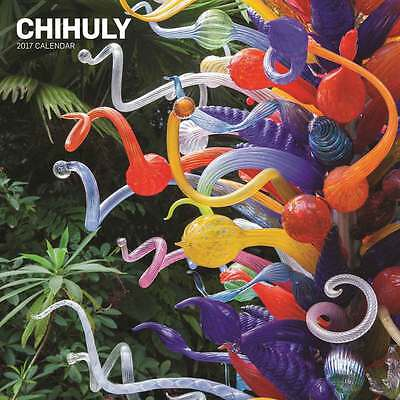 CHIHULY CALENDARIO 2017 Abrams & Chronicle Books NUOVO