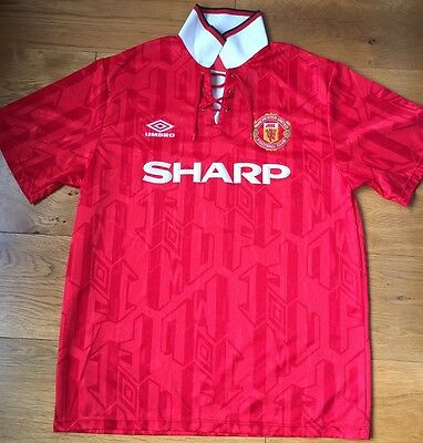 1992-94 Manchester United Home Shirt