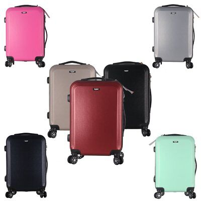"""20 24 28"""" ABS Hard Shell Hold Luggage Suitcase Travel Trolley Case 4 Wheels"""