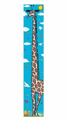 Giraffe Animal Bedroom Boy Girl Kids Tall As Canvas Height Chart Hc002