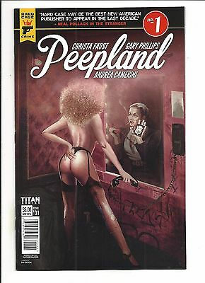 PEEPLAND # 1 (Titan Comics, NYCC 2016 Variant), NM NEW (Bagged & Boarded)