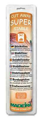 Madeira Super Stable Cut Away Stabiliser 30cm x 5m