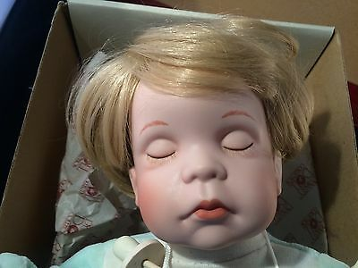 Vintage Porcelain Baby KENNY Dynasty Doll D73360 In Box