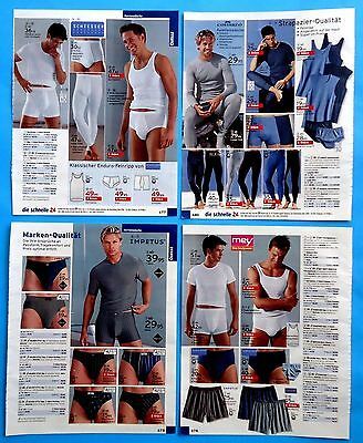 Men's Underwear Pajamas Catalog Clippings 24 pages  Ad Print