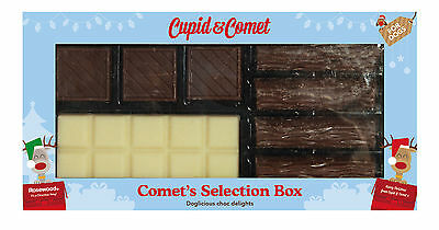 Rosewood Comet's Christmas Xmas Selection Box For Dogs, Choc Delights