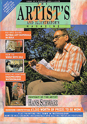 Artists And Illustrators Magazine Issue No 35 August 1989.