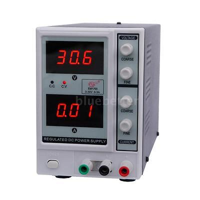 30V 3A DC Power Supply Adjustable Dual Digital Variable Precision For Lab H3R7