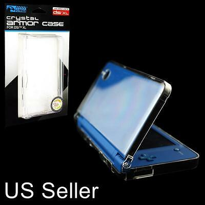 New Skin Cover Armor Case for Nintendo DSi XL Clear