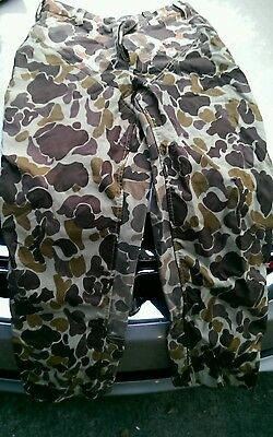 Men's GAMEHIDE Brushbuster 2 Briar Camo  Duck Hunting Pants 32 waist Camouflage