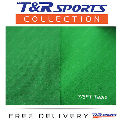 "Grass Green Single-sided Pool Snooker Table Top Cloth Felt Indoor Outdoor 7""/8"""