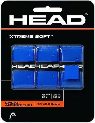 HEAD XTREMESOFT Overgrips Grip Tape Tennis Badminton Squash Rackets
