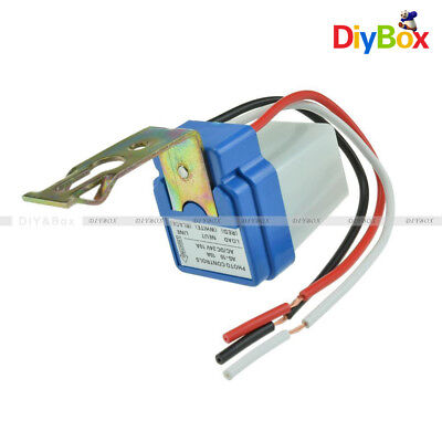 AC DC 12V 24V 220V 10A Auto On Off Photocell Street Light Sensor Switch
