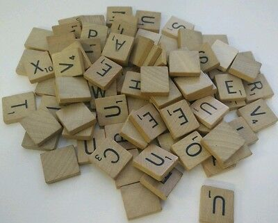 Scrabble Letters Your Choice Pick of 15 Custom Tiles Letters Wooden Crafts Arts