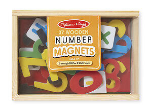 M&D - Number Magnets - 37pc - Kids Toy - Presents and Gifts for Children