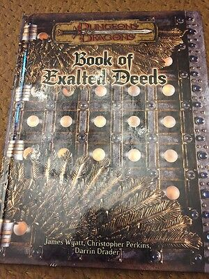 Dungeons & Dragons Book of Exalted Deeds 2003 Excellent Condition!
