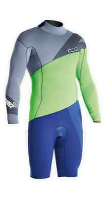 48502-4413 Ion Wetsuit Strike Shorty LS 2,5 DL 2015 - Ship Europe Free